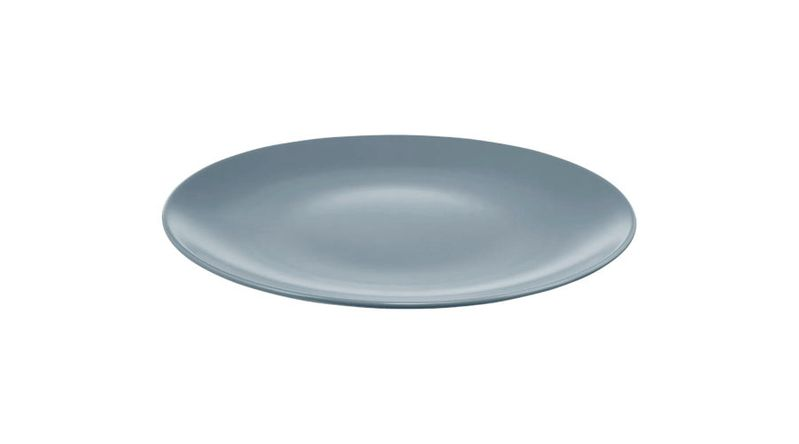 DINERA Plate in Gray-Blue