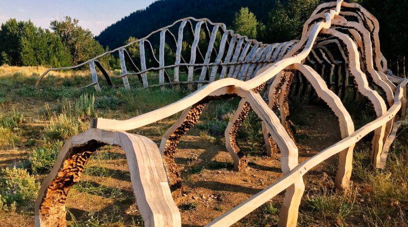 Spur Sculpture Sun Valley