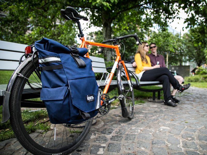 Backpack to Bike Pannier