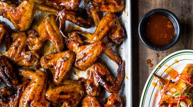 Grilled Wings with Agrodolce