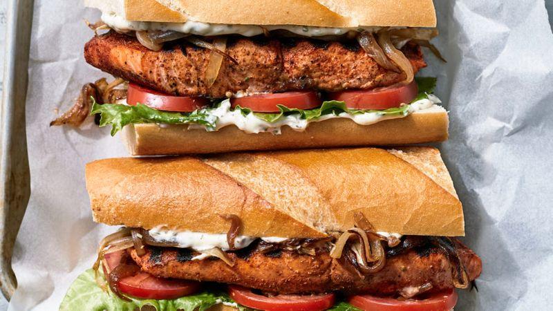 Market Grill Fish Sandwiches