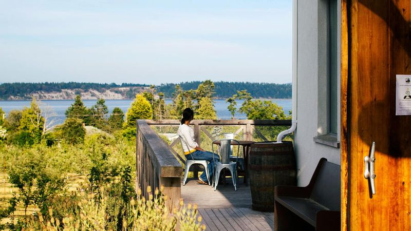 Sea Cider Farm and Ciderhouse in the Saanich Peninsula