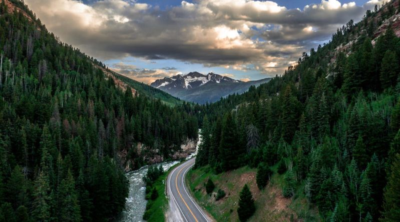 Drive to Carbondale, Colorado