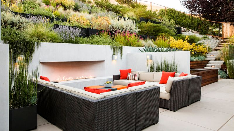 A Hillside Garden S Ingenious Design Sunset Magazine