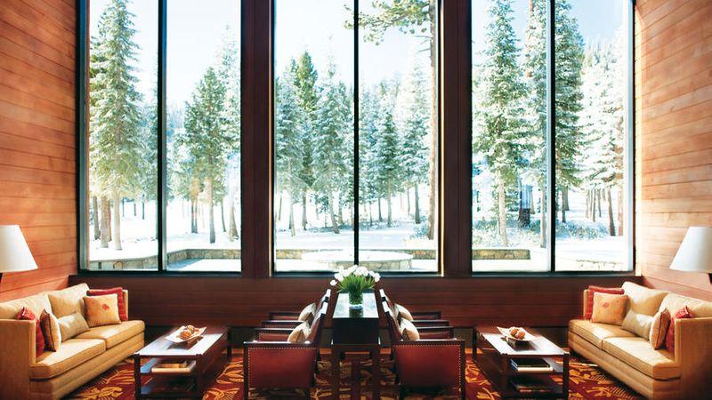 Inside the Ritz-Carlton Lake Tahoe Lake Club